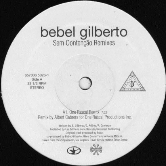 Bebel Gilberto - Sem Conten??o (Remixes)