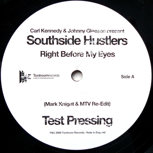 Southside Hustlers / Deepgroove - Right Before My Eyes / Break Of Dawn