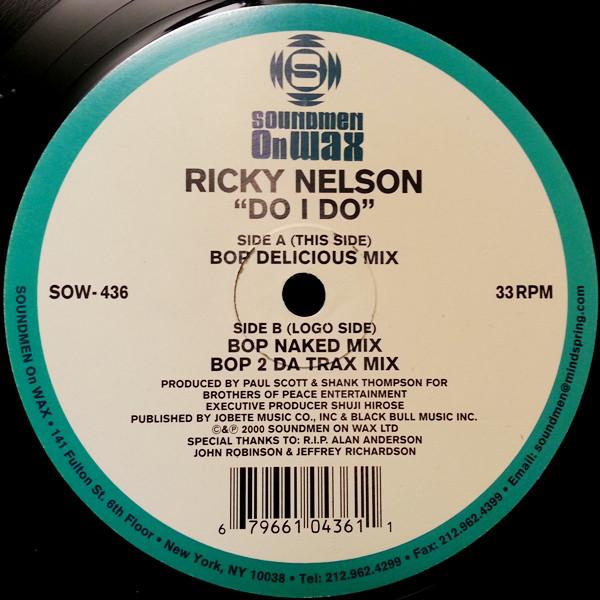 Ricky Nelson - Do I Do