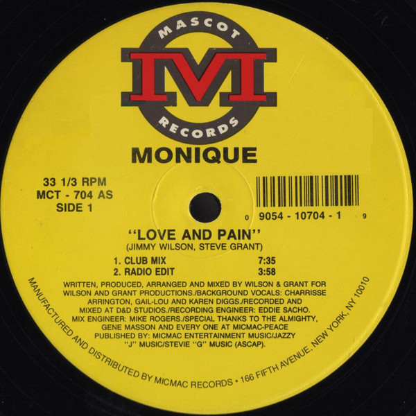 Monique - Love And Pain