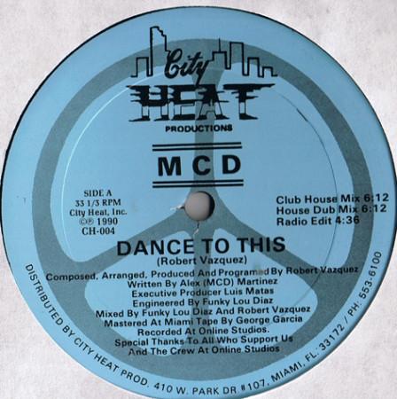 MCD - Dance To This