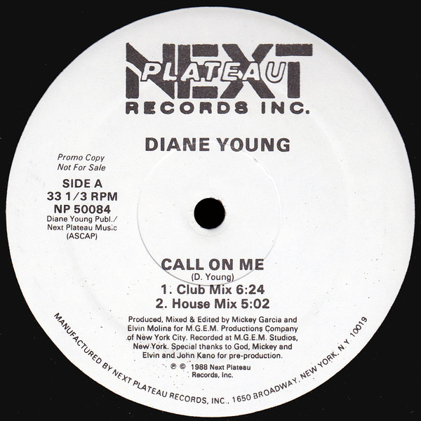Diane Young - Call On Me