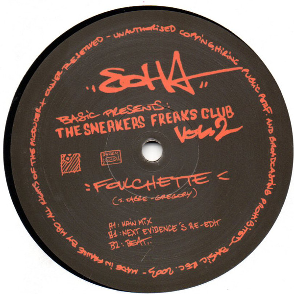 Soha - The Sneakers Freaks Club Vol. 2