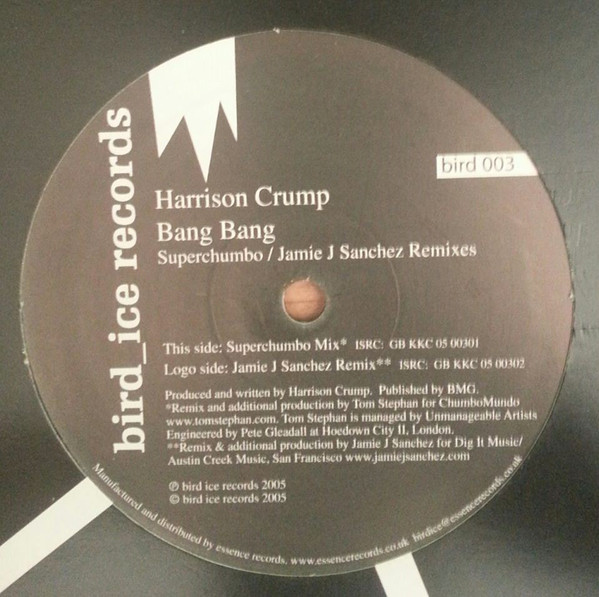 Harrison Crump - Bang Bang