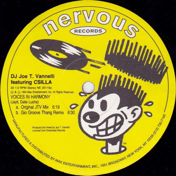 Joe T. Vannelli featuring Csilla - Voices In Harmony