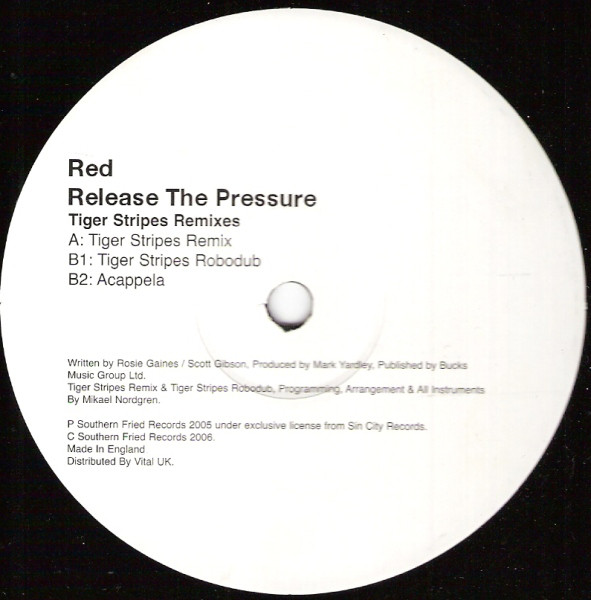 RED - Release The Pressure (Tiger Stripes Remixes)