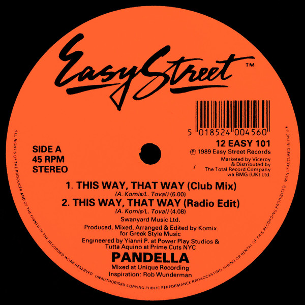 Pandella - This Way, That Way