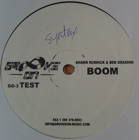 Shawn Rudnick & Ben Grassini - Boom / Chant