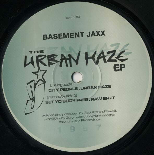 Basement Jaxx - The Urban Haze EP