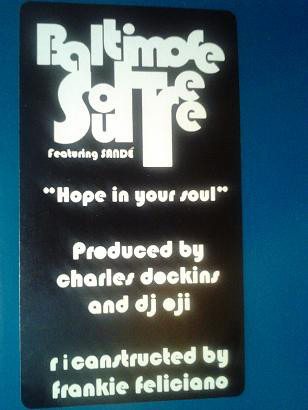 Baltimore Soul Tree - Hope In Your Soul