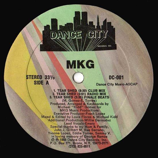 MKG - Tear Shed