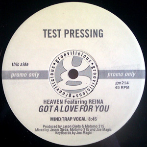 Heaven Featuring Reina - Got A Love For You