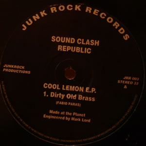 SOUND CLASH REPUBLIC - COOL LEMON E.P.