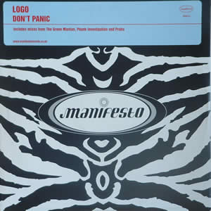 LOGO - DON?T PANIC (DOUBLE)