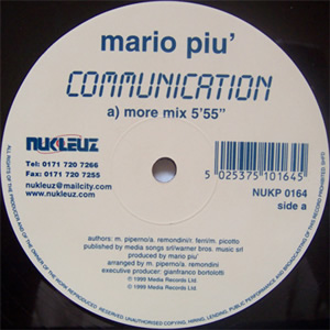 MAURO PIU - COMMUNICATION
