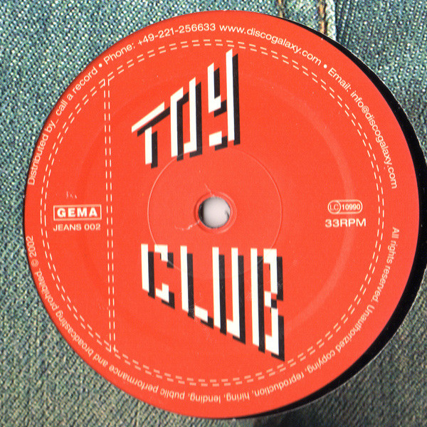 Toy Club - Pipeline EP