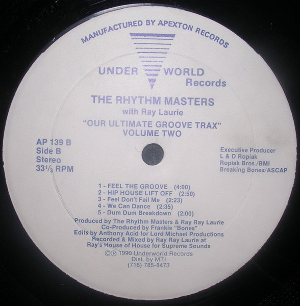 The Rhythm Masters With Ray Laurie - Our Ultimate Groove Trax Volume Two