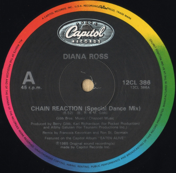 Diana Ross - Chain Reaction (Special Dance Remix)