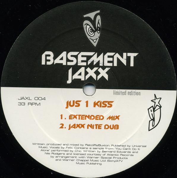 Basement Jaxx - Jus 1 Kiss (Basement Jaxx / Boris Dlugosch