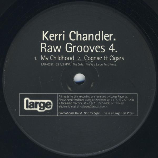 Kerri Chandler - Raw Grooves 4