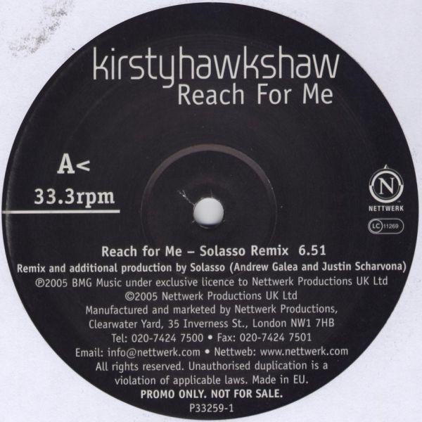 Kirsty Hawkshaw - Reach For Me