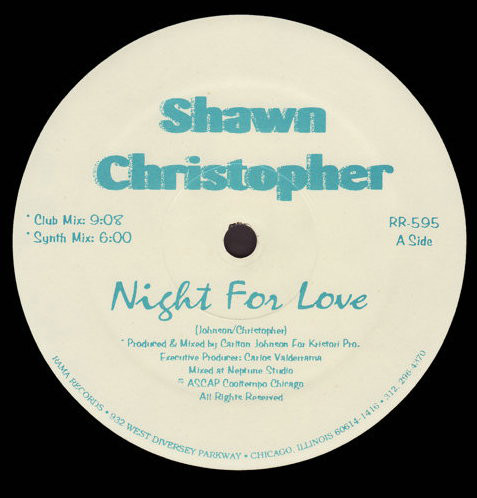 Shawn Christopher - Night For Love