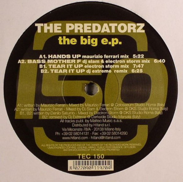 The Predatorz - The Big E.P.