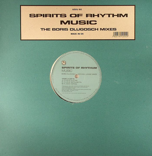 Spirits Of Rhythm -  Music - (Boris Dlugosch + Michi Lange Mixes)