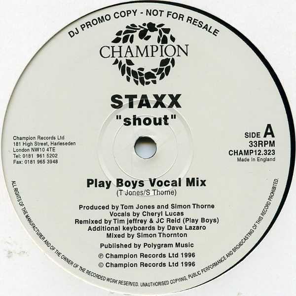Staxx - Shout