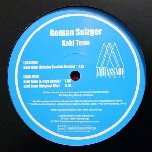 Roman Salzger -  Koki Teno