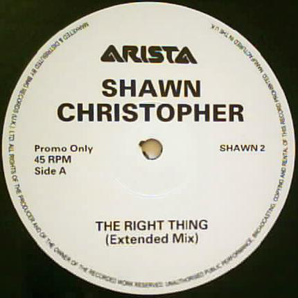 Shawn Christopher - The Right Thing