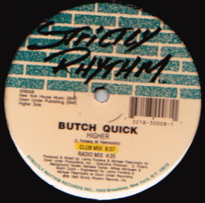 Butch Quick - Higher