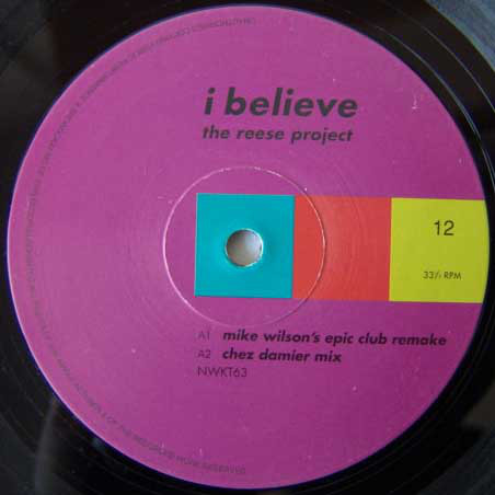 The Reese Project - I Believe