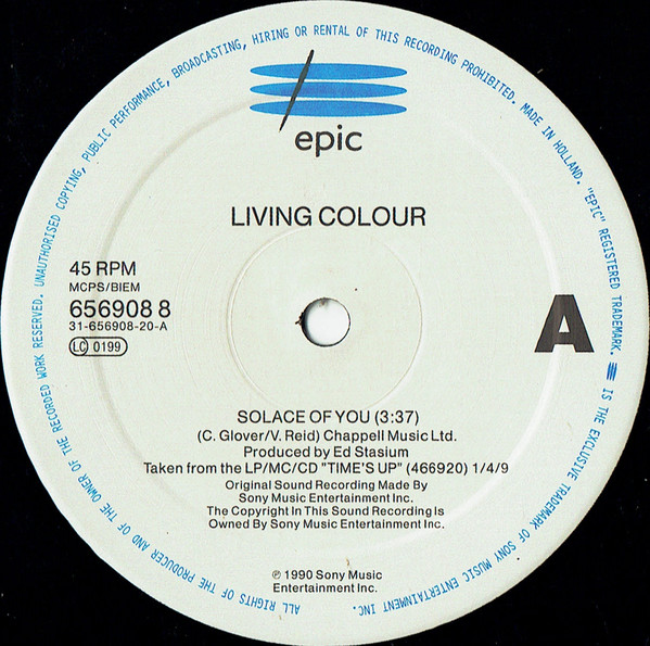 Living Colour - Solace Of You