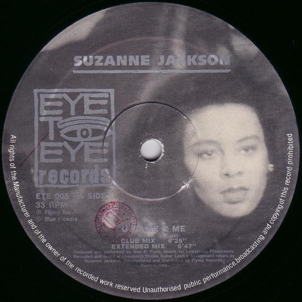 Suzanne Jackson - U Came 2 Me
