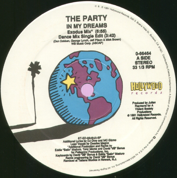 The Party - In My Dreams