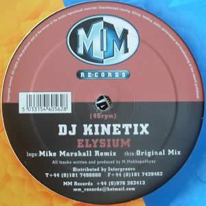 DJ KINETIX - ELYSIUM