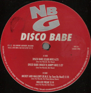 NATURAL BORN GROOVES - Disco Babe