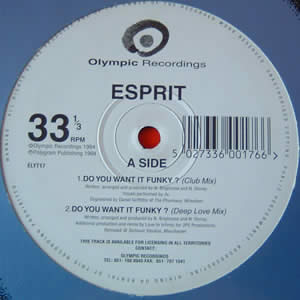 ESPRIT - DO YOU WANT IT FUNKY?