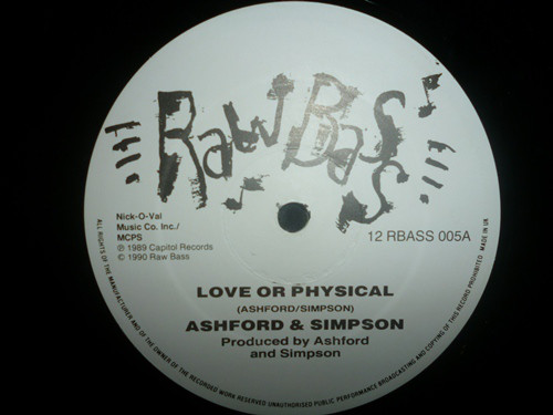 Ashford And Simpson - Love Or Physical / Cookies And Cake