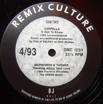 Various - Remix Culture 4/93