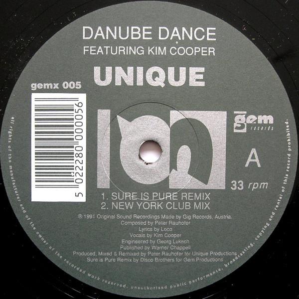 Danube Dance Featuring Kim Cooper - Unique (Remixes)
