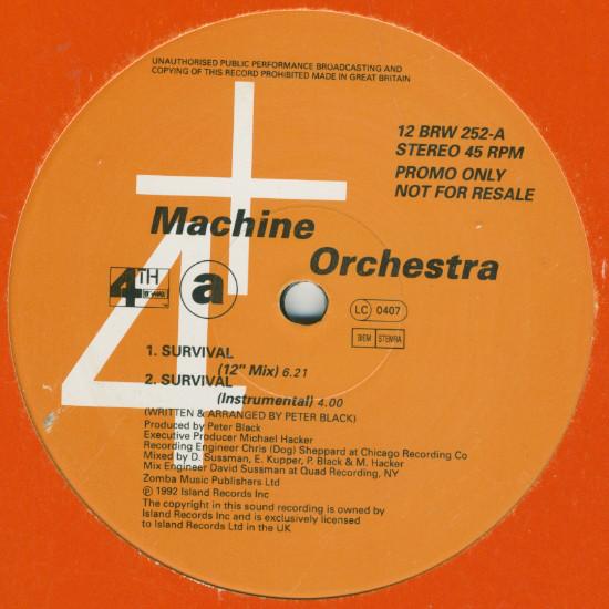 Machine Orchestra - Survival