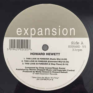 Howard Hewett - Love Is Forever