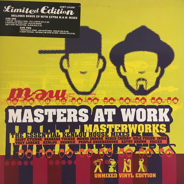 Masters At Work - Masterworks - The Essential Kenlou House Mixes