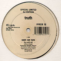 Truth - Open Our Eyes (Frankie Knuckles Remixes)