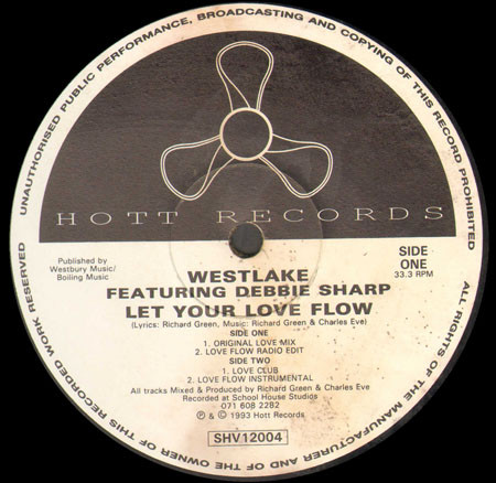 Westlake Featuring Debbie Sharp - Let Your Love Flow