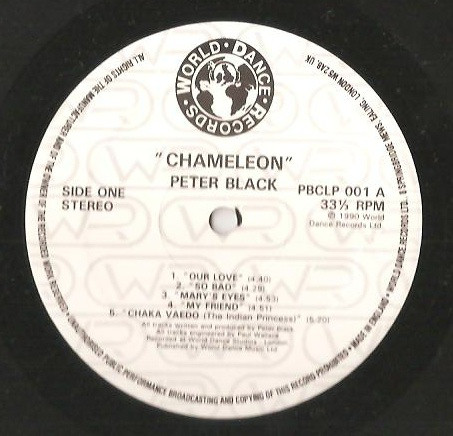 Peter Black - Chameleon