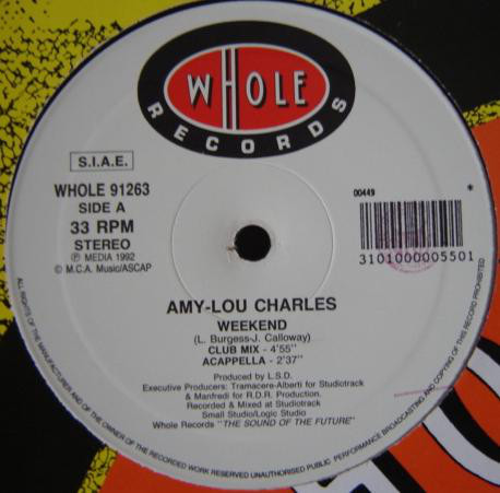 Amy-Lou Charles - Weekend