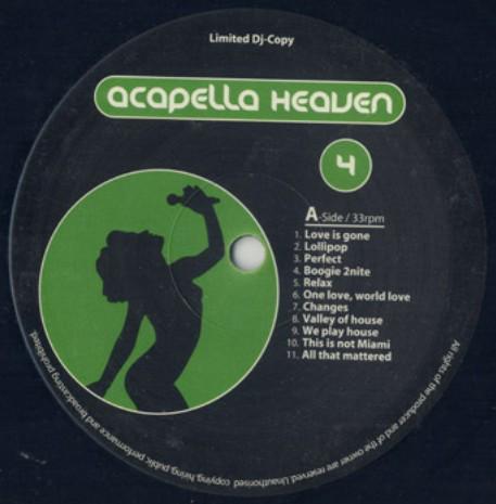 Various - Acapella Heaven Vol. 4